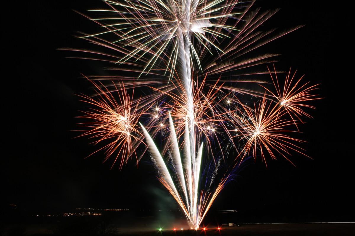 Feuerwerk für Firmenjubiläen