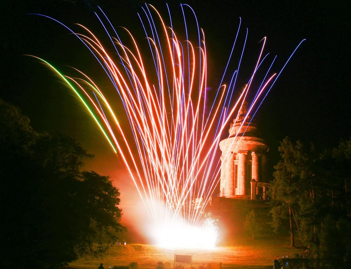 Geburtstagsfeuerwerk Thüringen
